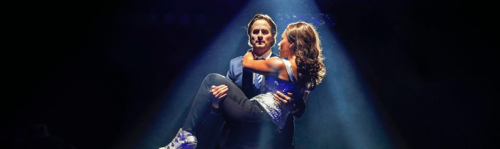 Kip Gamblin and Paulini in THE BODYGUARD (c) Jeff Busby