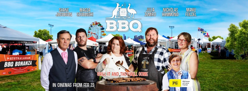 The BBQ Horizontal Poster